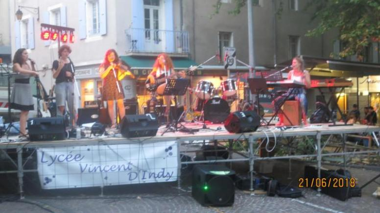Music festival a